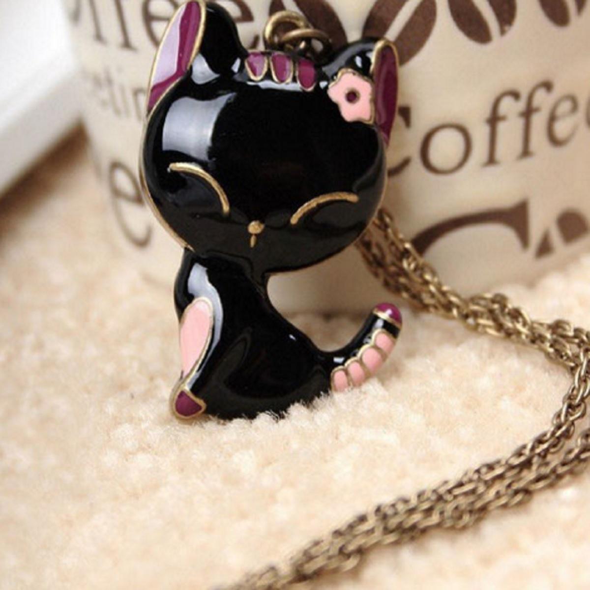 Collier chat noir 1200 x 1200